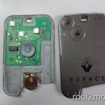 Renault Espace key-card