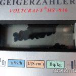 Geigerzähler LCD Display