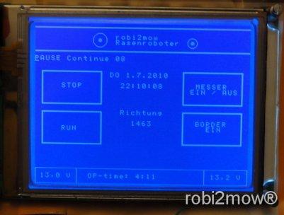 Touchscreen GLCD Display