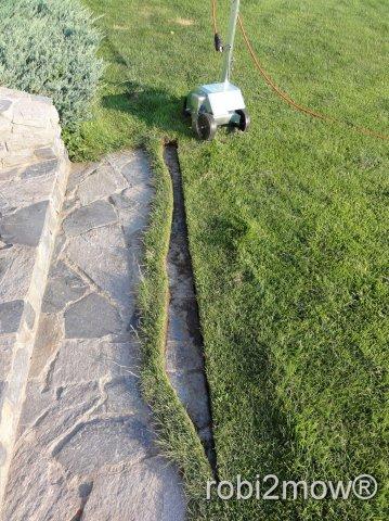 Rasenkantenbearbeitung