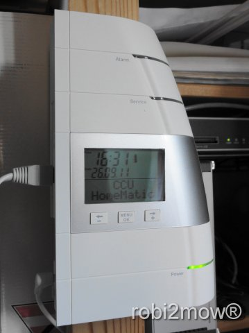 HomeMatic Haussteuerung
