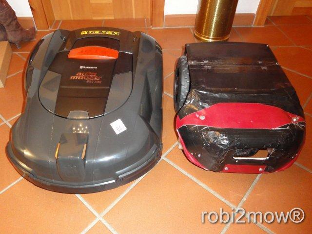 robi2mow + Automower 230ACX