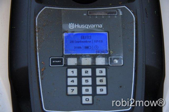 Automower 305 Display