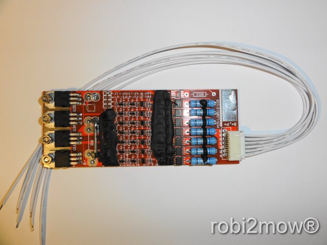 Tuning Balancer PCB für Ambrogio Li-Ion Akku