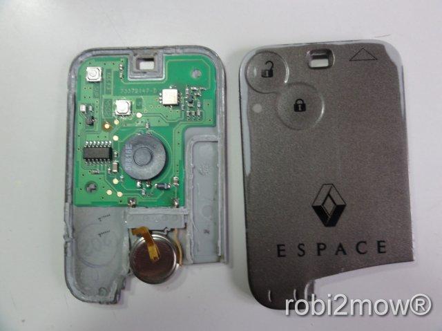 Renault Espace Key Card Reparatur