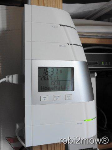 Ambrogio Überwachung mit HomeMatic
