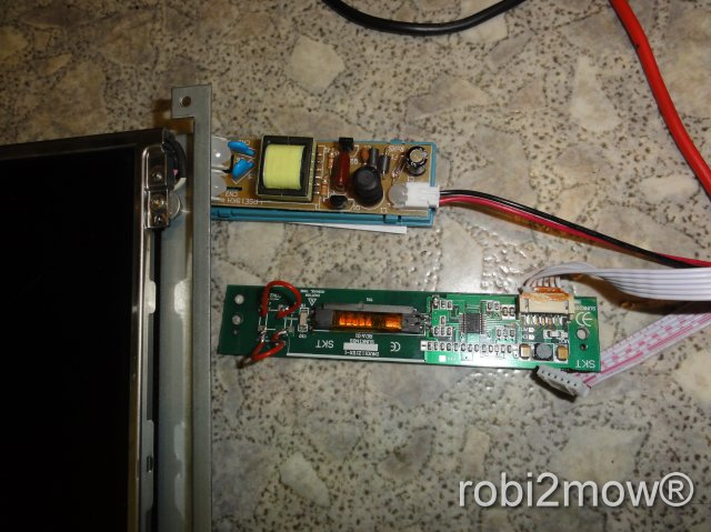 LCD Monitor Reparatur